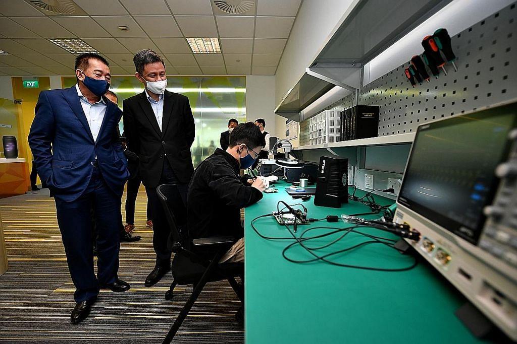 Firma SG digesa berinovasi dalam bidang elektronik, perkilangan