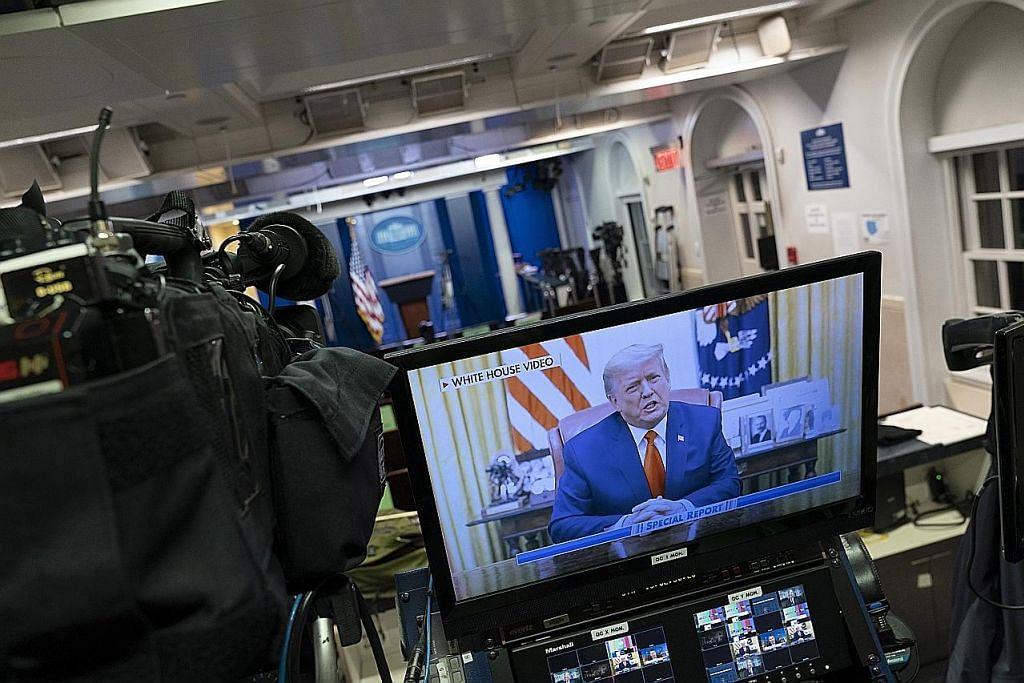 PENYINGKIRAN DAN IMPLIKASINYA Trump kecam keganasan politik