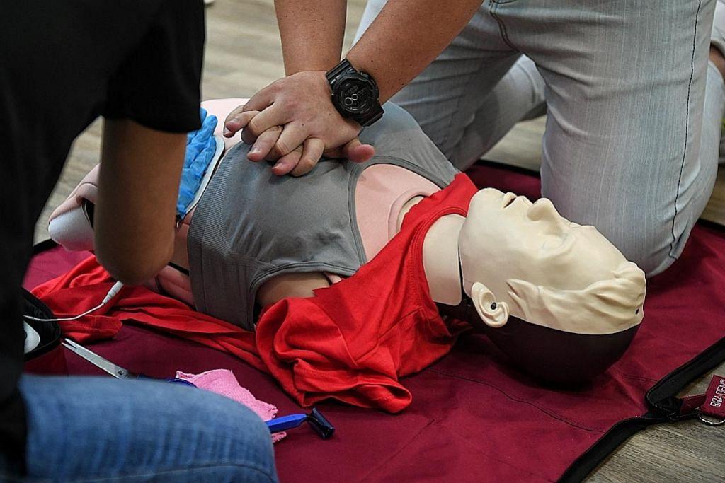 LANGGAR LANGKAH URUS SELAMAT COVID-19 Usah bimbang lakukan CPR pada wanita