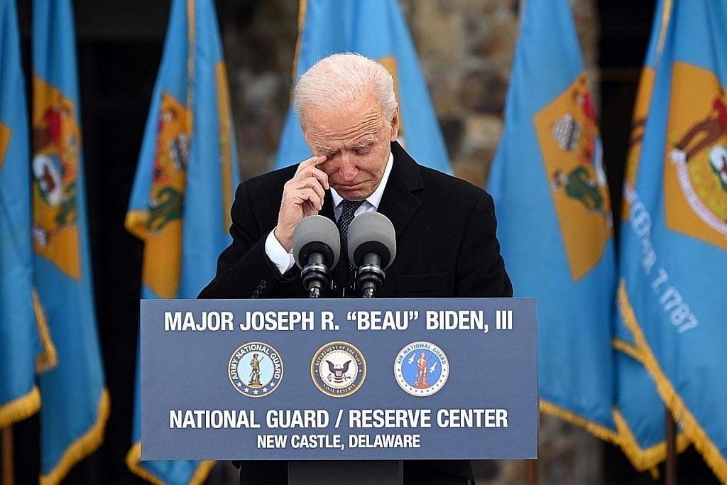 Laluan penuh emosi Biden dari Delaware ke Washington