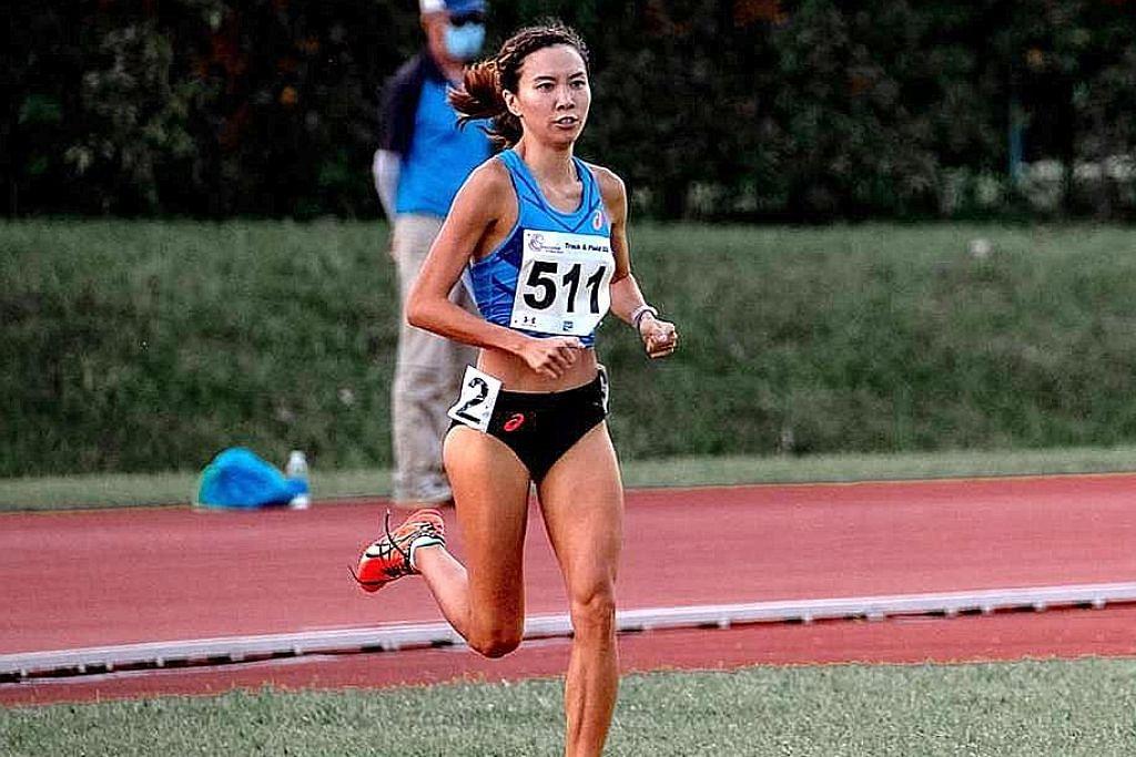 Pelari Goh Chui Ling raih keyakinan dalam acara percubaan