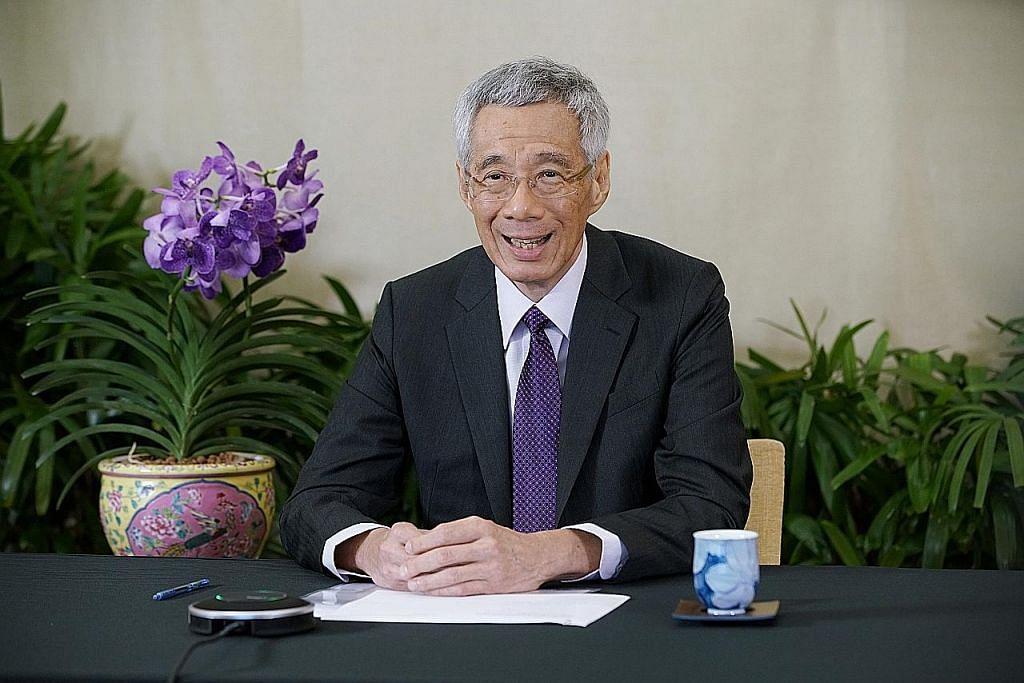 PM Lee: Kerjasama antarabangsa perlu bagi raih pertumbuhan semula ekonomi