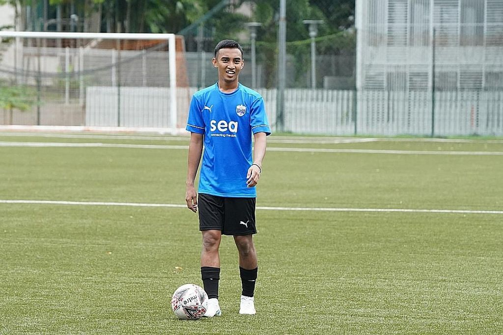 Walau ada tawaran luar Faris kekal di SG