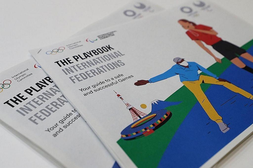 Buku panduan jadikan temasya sukan yang selamat OLIMPIK TOKYO