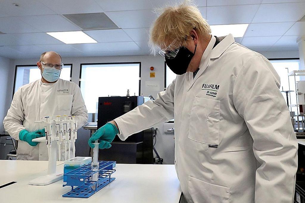 Britain kian capai sasaran 15j warga paling berisiko terima dos pertama vaksin
