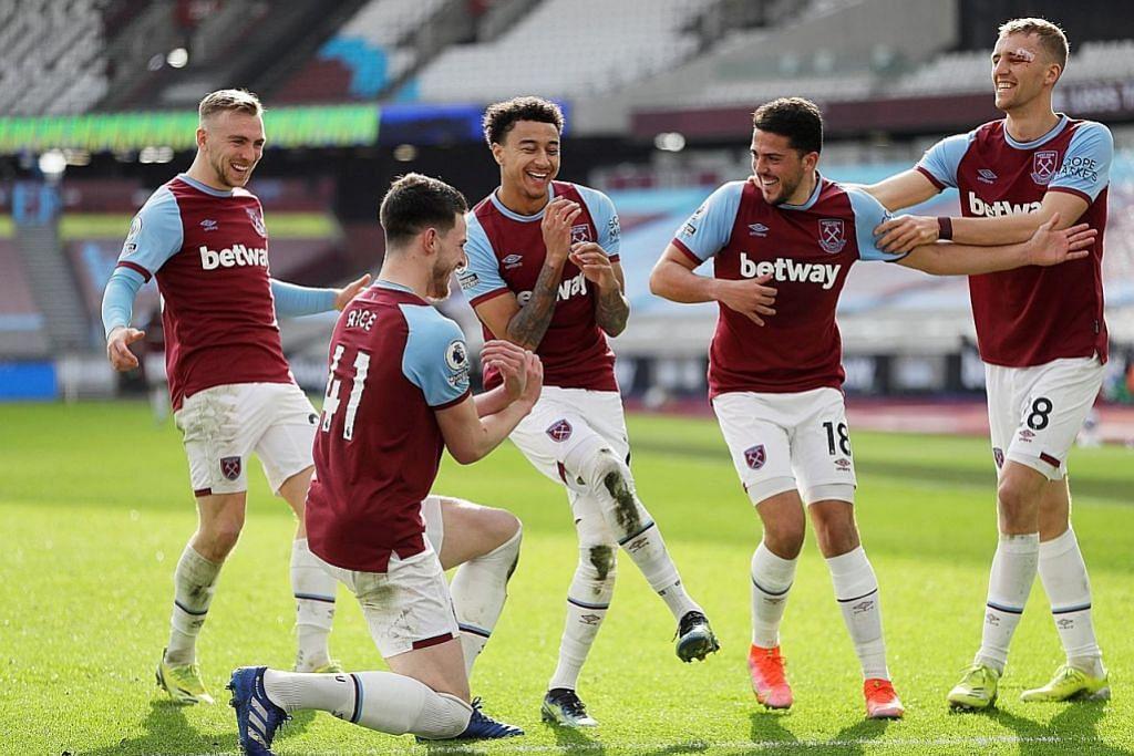 West Ham melompat ke tangga ke - 4