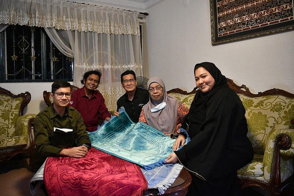 MakBesar anjur projek hadiah sejadah