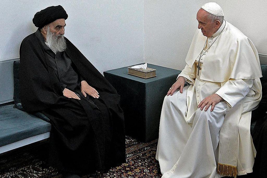 Paus Francis di Iraq cerminan insan, ihsan RENCANA