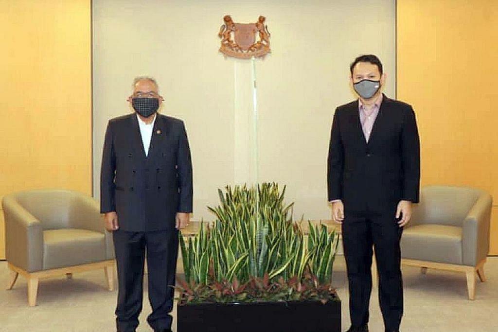 Zaqy: S'pura punya hubungan mesra, mendalam dengan Brunei, Britain