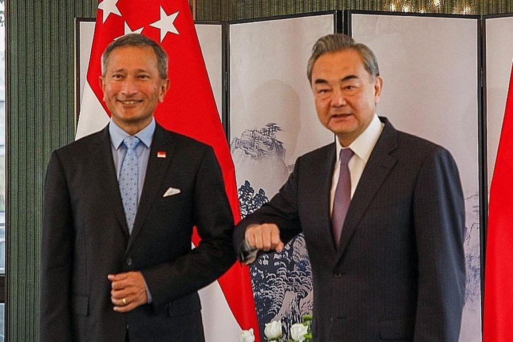 S'pura-China bincang pulih perjalanan dua negara