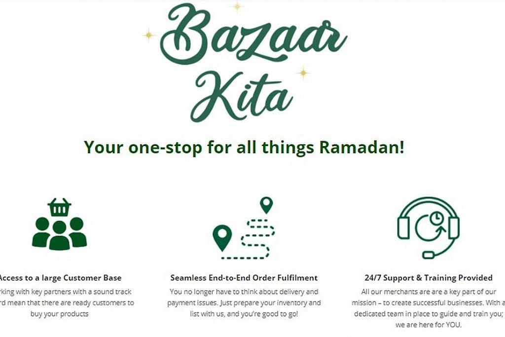 60 perniagaan daftar di portal Bazaar-Kita.sg