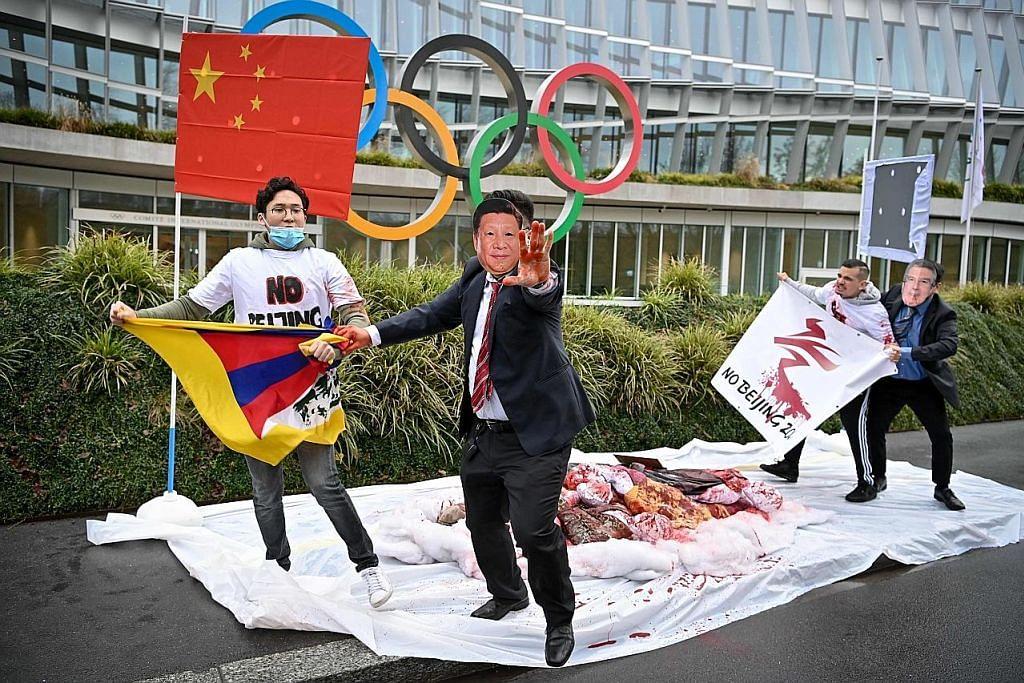 Amerika mahu bincang boikot Sukan Olimpik Beijing dengan sekutu