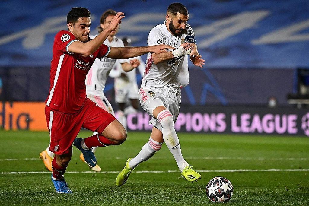 LIGA JUARA-JUARA Liverpool 'bagai menyerah' kepada Real Madrid