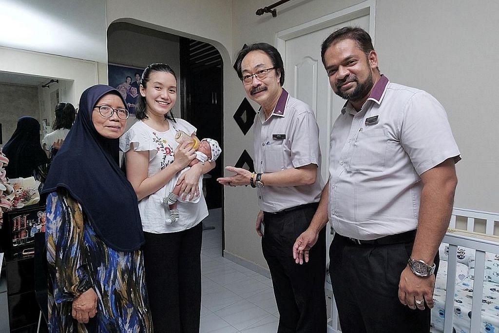 Tindakan pantas staf SBS Transit bantu wanita lahirkan anak dengan selamat
