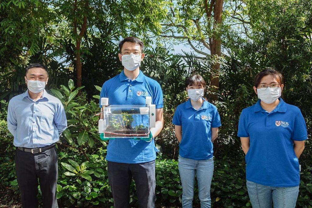 Kebun SmartFarm guna air dari udara