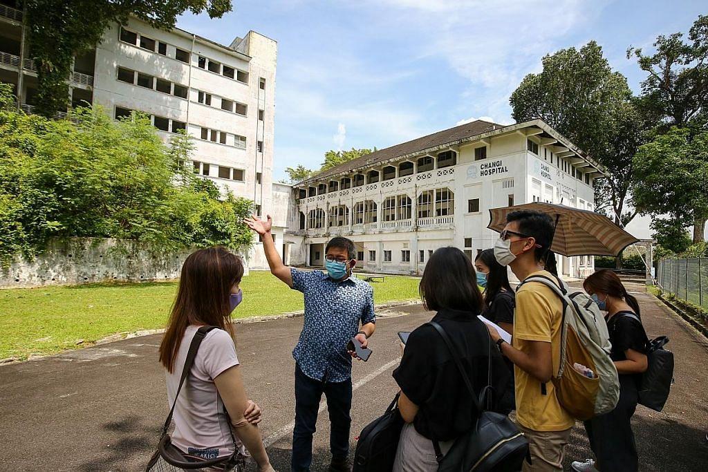Peraduan suntik nafas baru Changi Point, Hospital Changi Lama