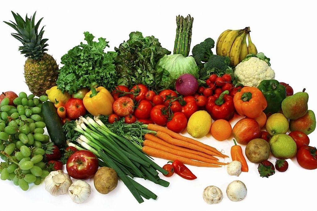 Buah, sayur antara makanan terbaik semasa sahur