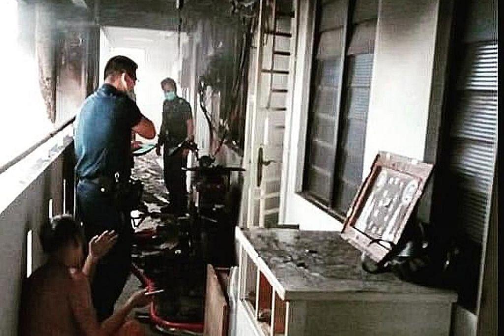 E-basikal dipercayai punca kebakaran flat di Bedok North