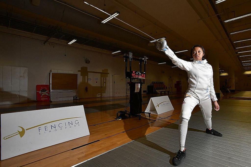 Atlet lawan pedang SG kedua layak ke Olimpik