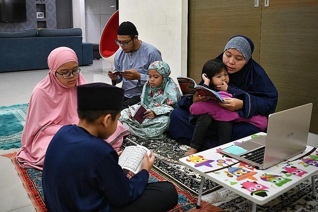 Jika kita tak dapat ke masjid, hadirkan masjid ke hati kita