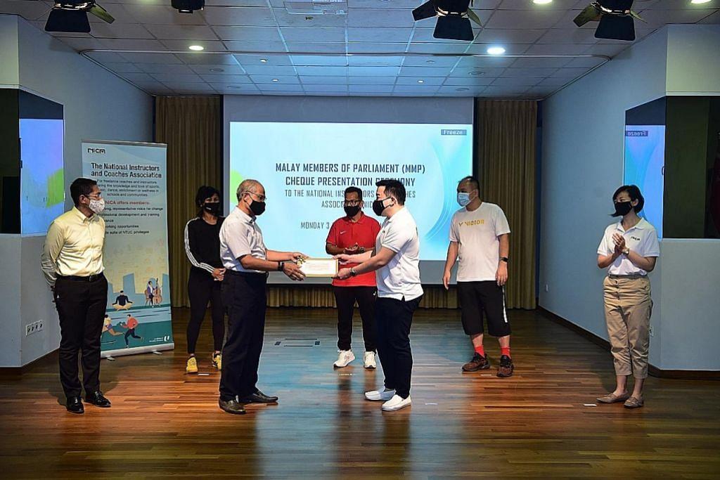 AP Melayu PAP bantu jurulatih bebas, kerja sendiri