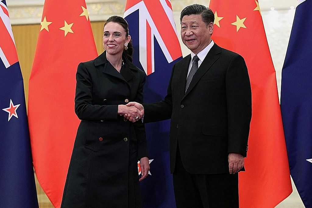 Arden: Perbezaan antara NZ, China semakin sulit untuk didamaikan