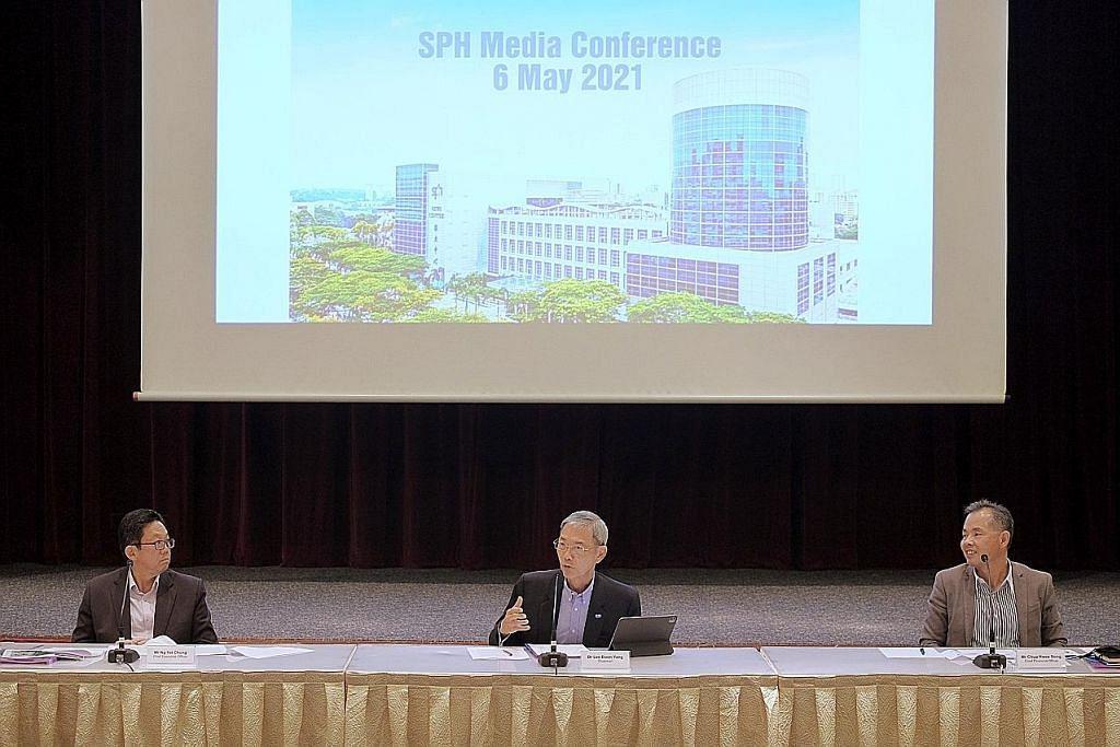 Pindah media ke entiti baru 'langkah terbaik, paling wajar' : SPH