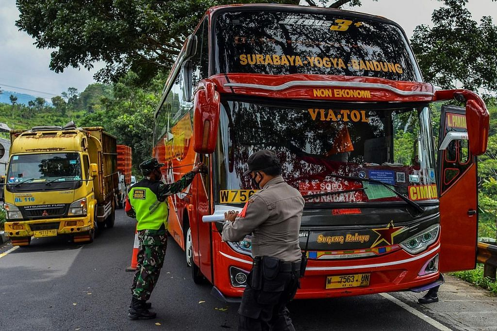 Indonesia mula kuatkuasa larangan balik ke kampung