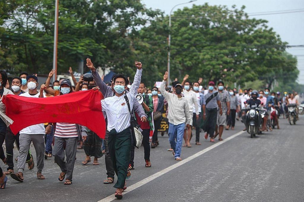 RENCANA Bantahan, kekerasan dan kematian di Myanmar tidak semakin reda