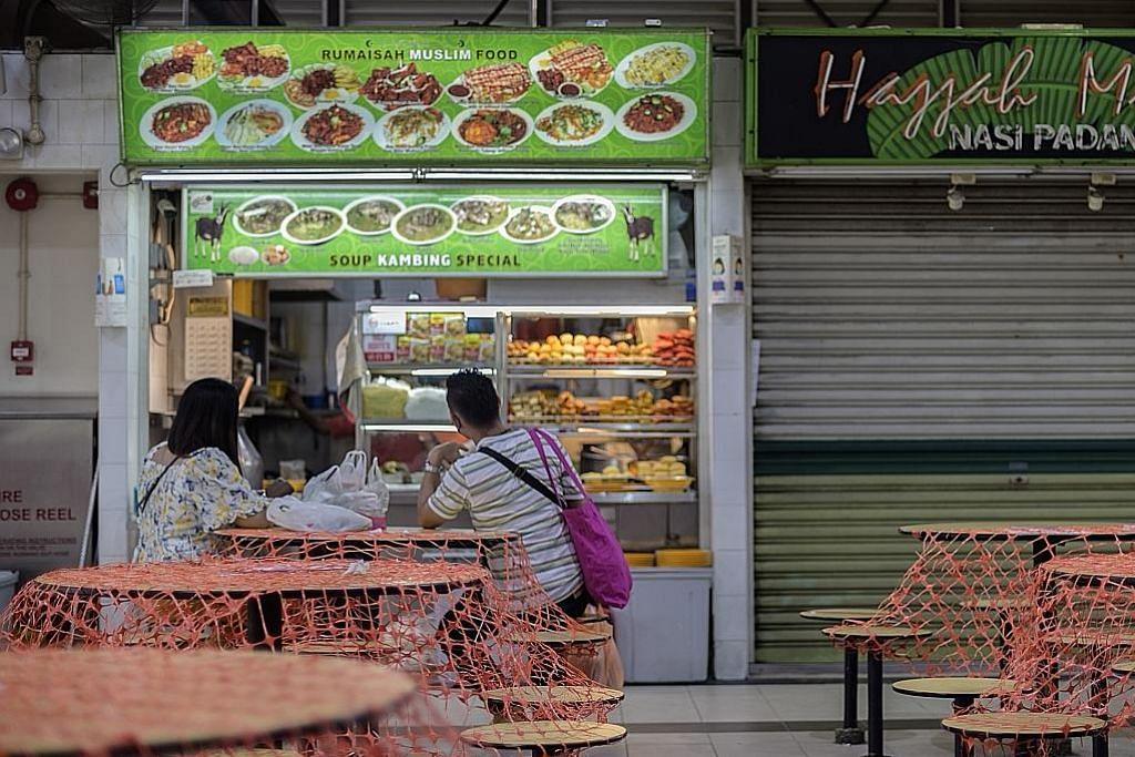 Niaga penjaja Pasar Geylang Serai merosot tapi bantuan NEA dapat kurangi kos