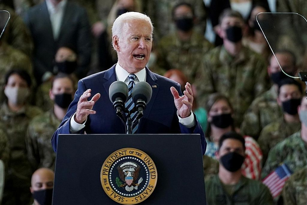 Biden mula lawatan ke Eropah, beri amaran kepada Russia