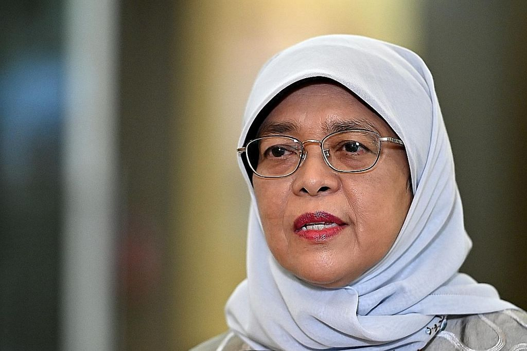 Presiden Halimah lahir keprihatinan insiden berbaur perkauman jejas perpaduan