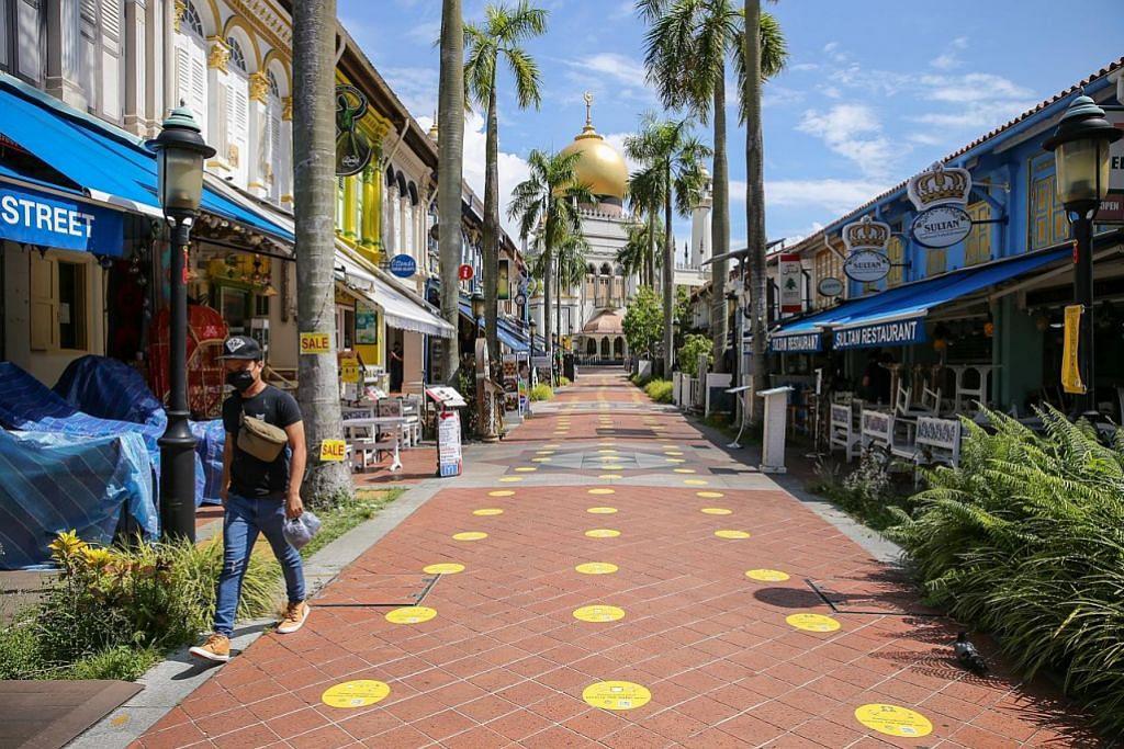 Sekatan hambat pemulihan, tapi Kampong Glam atur rancangan kembali rancak