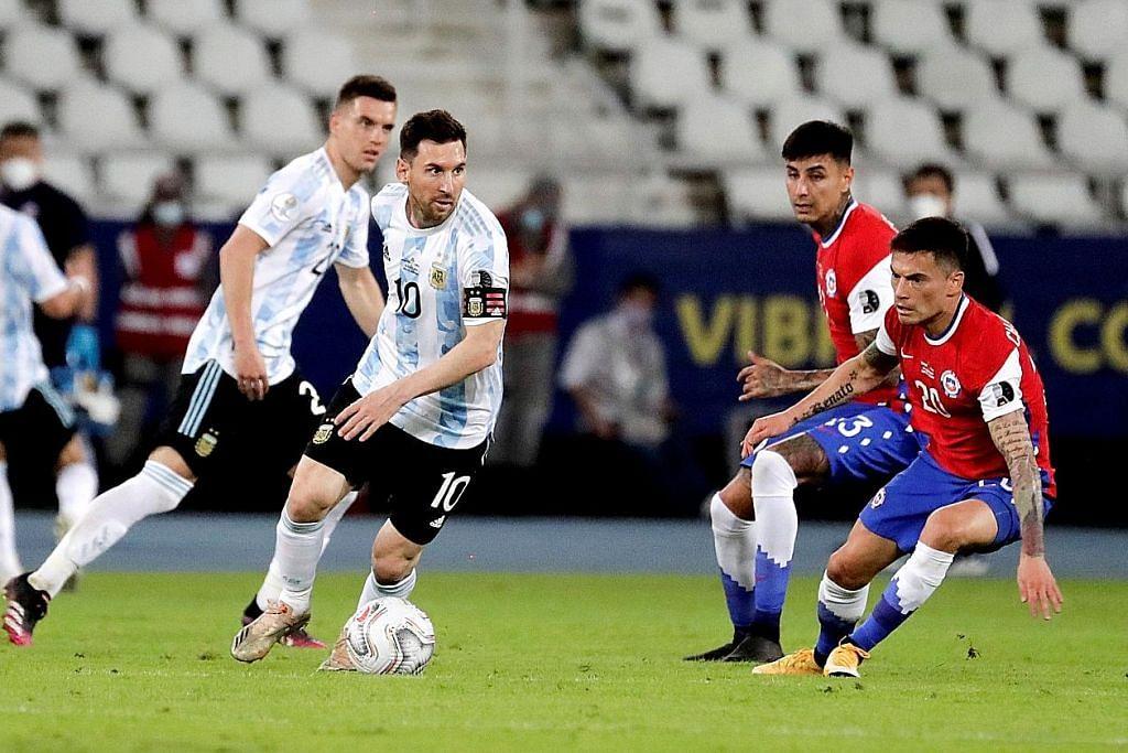 COPA AMERICA Gol Messi melalui sepakan percuma gagal tundukkan Chile
