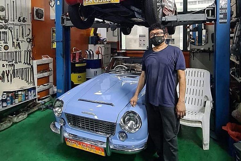 Bengkel masih tarik minat pemilik kereta vintaj