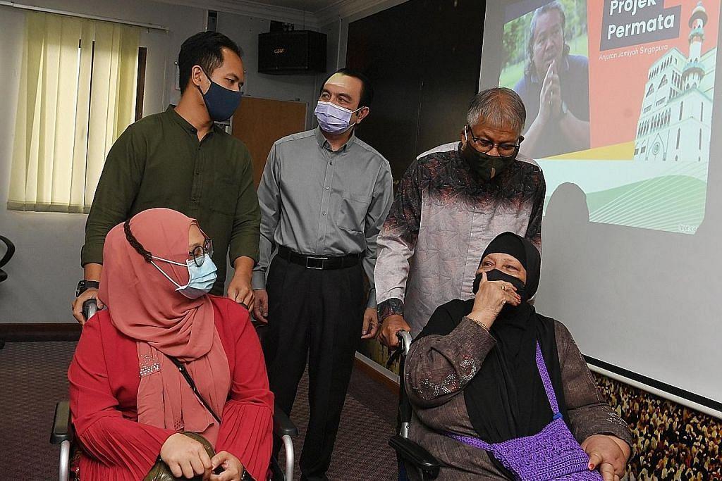 Jamiyah umum Projek Permata bantu Alias Kadir