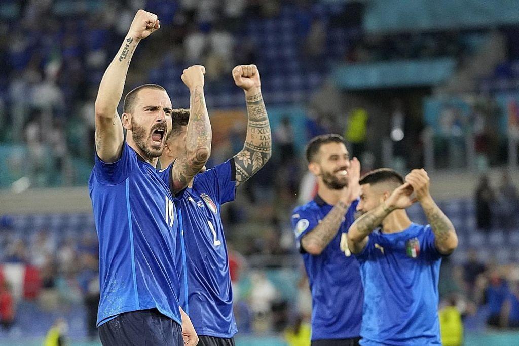 Pasukan mana ikut Italy mara? EURO 2020 - KUMPULAN A