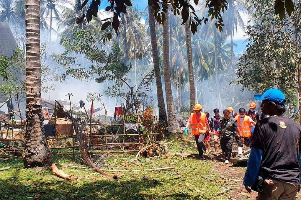 Pesawat tentera Filipina terhempas semasa mendarat di Sulu: 17 terbunuh