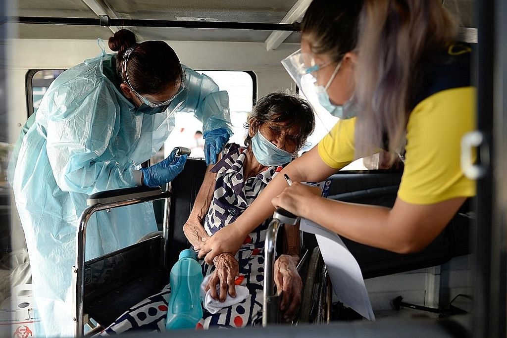 Bandar Filipina henti vaksinasi dek bekalan habis
