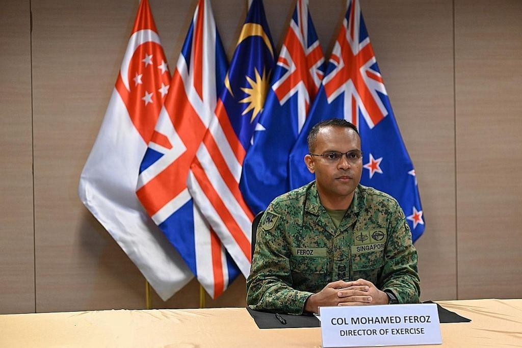 SAF anjur Latihan Suman Warrior secara maya