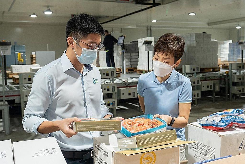 Pemerintah akan pastikan makanan laut cukup: Grace Fu