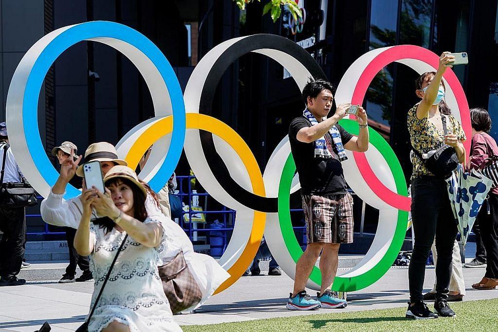 Di sebalik pandemik Jepun masih bersemangat Olimpik
