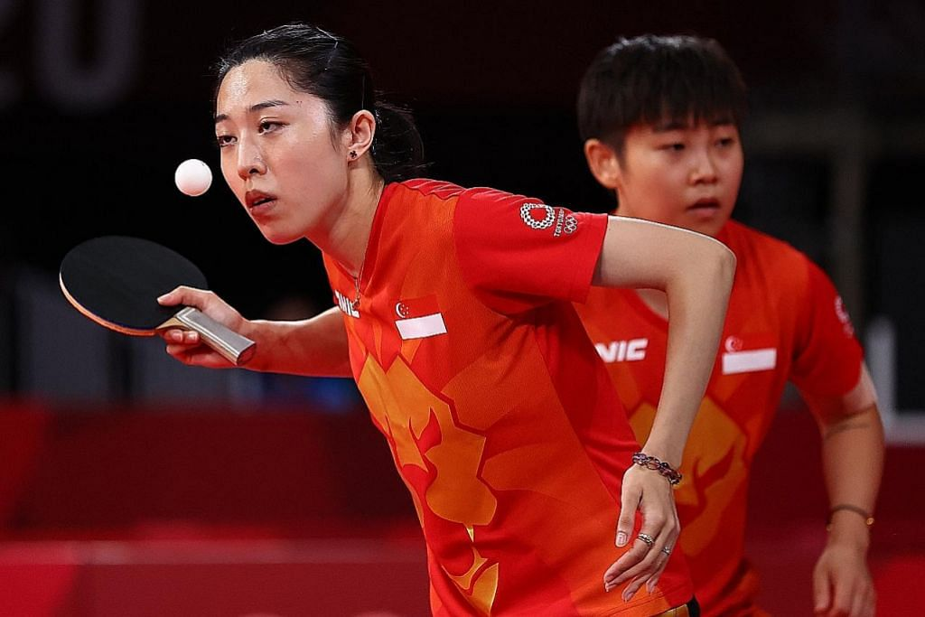 Pasukan tenis meja SG mara ke suku akhir