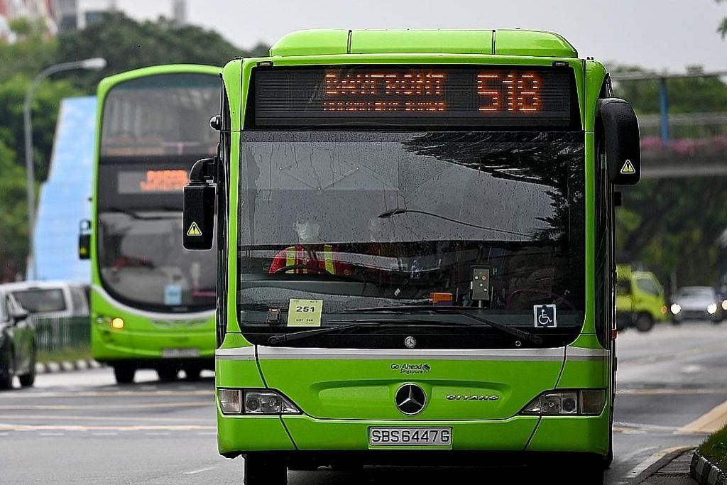 Bas Go-Ahead akan henti sementara lima khidmat