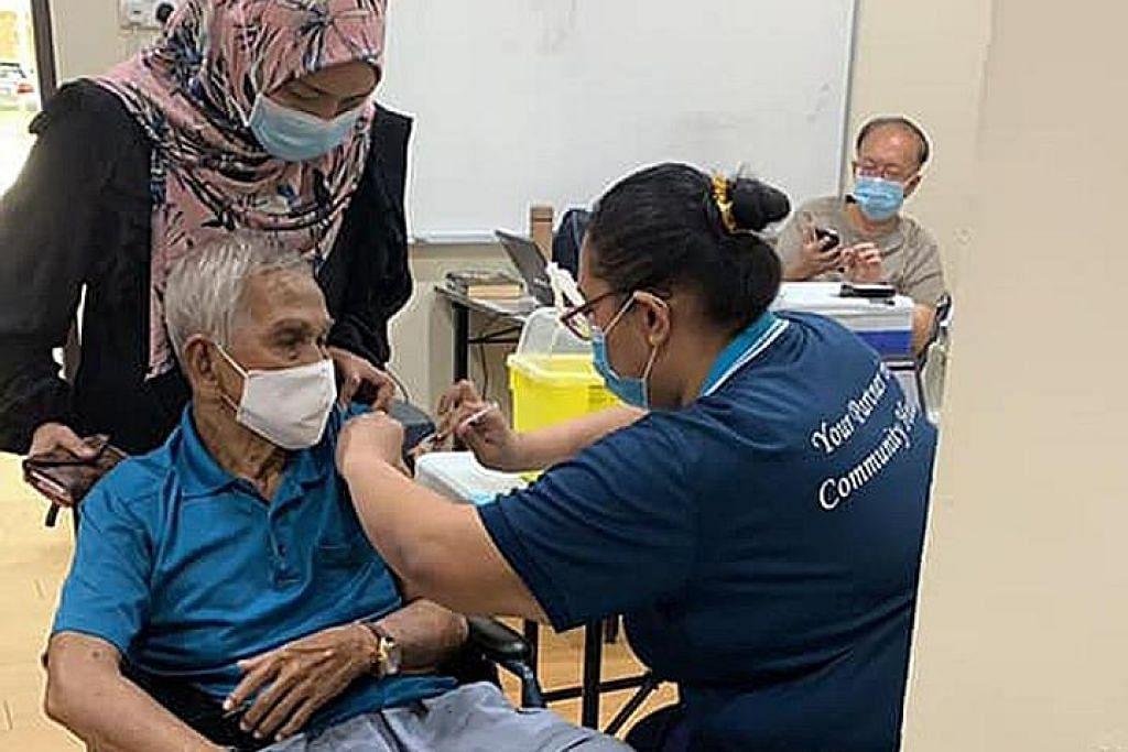 BERITA COVID-19 'Anda boleh galak warga yang anda kenali dapatkan vaksinasi'