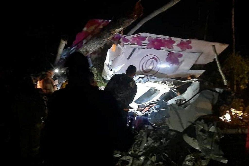 Ramai cedera, pesawat Russia buat pendaratan cemas
