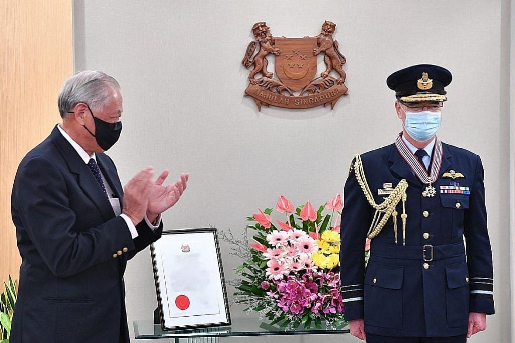 Ketua tentera udara Australia dianugerah Pingat Jasa Gemilang