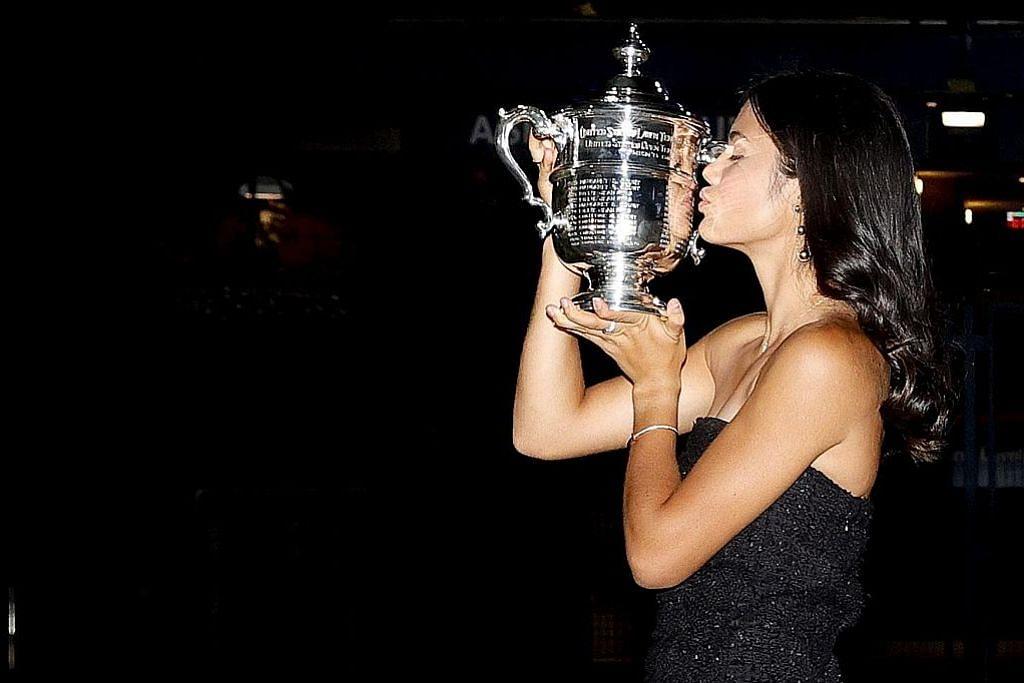 PERSONALITI SUKAN YANG JADI TUMPUAN Raducanu 'permata' baru dunia tenis