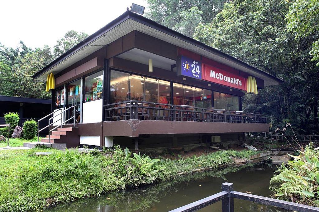 McDonald's kekalkan cawangan Ridout Tea Garden di Queensway