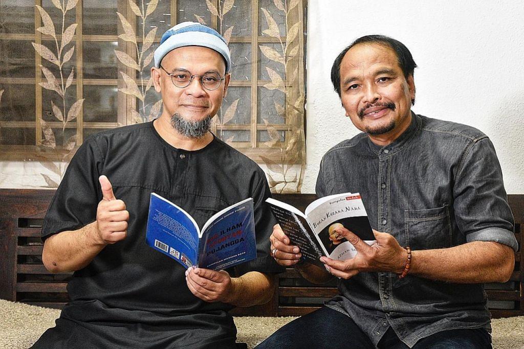 Dua sahabat seni kongsi 'Mutiara Kata'